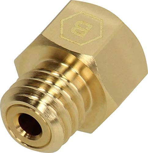D/üse Messing 0,4 mm Durchmesser f/ür 3D Drucker BROZZL RepRap M6 1,75mm E3D V6
