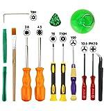 XOOL Triwing Screwdriver for Nintendo, Professional Full Triwing Screwdriver Repair Tool Kit,3.8mm and 4.5mm...