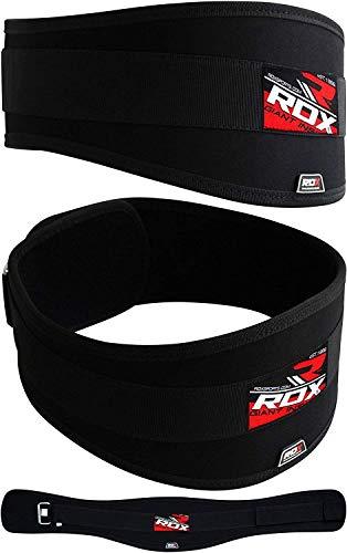 RDX Sollevamento Pesi Cintura Neoprene Lombare Fitness Allenamento Pesistica Bodybuilding Schiena Palestra