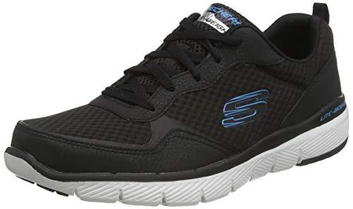Skechers Flex Advantage 3.0 52954, Zapatillas para Hombre, Negro (Blac