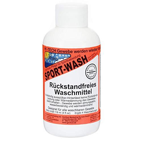 Sno Seal Sport Wash (Atsko) - Outdoor-Sport-Waschmittel für Funktionsbekleidung - DER Klassiker - 1 Liter