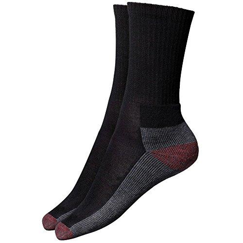 Fast Fashion - Dickies Coussin Chaussettes De L'équipage 5 Paires Noir Taille 6-11