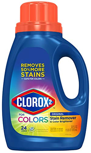 Clorox 2 for Colors - Stain Remover and Color Brightener, 33 Fl Oz,(package May Vary)