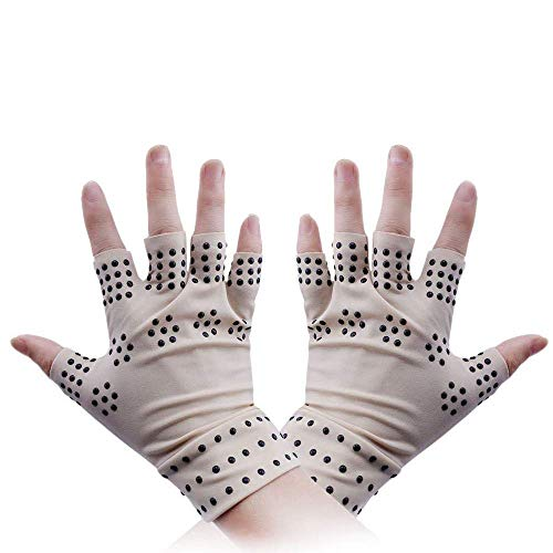 Arthrose Handschuhe Magnet, Fellibay Anti Arthritis Gesundheits Kompressionshandschuhe Damen Handschuhe 1 Paar
