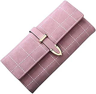 Ladies PU Leather Wallet/Clutch/Purse for Women's Blue Pink