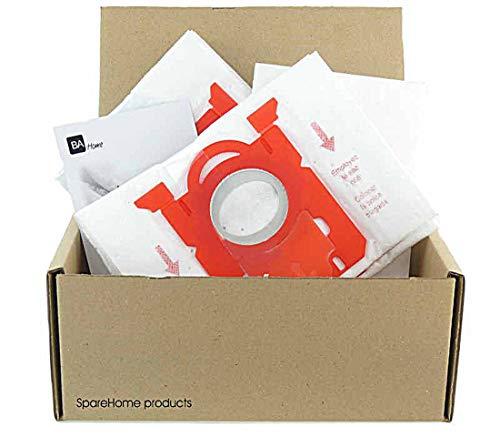 SpareHome 10 Bolsas 2 microfiltros recortables para Aspirador Taurus Focus 1800