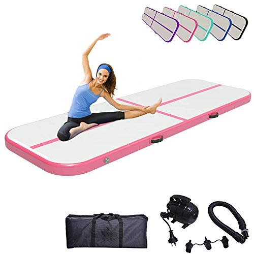 4m Air Track Tumbling Tappetino Gonfiabile Da Ginnastica Tappetino INFLATABLE Fitness MAT PAD