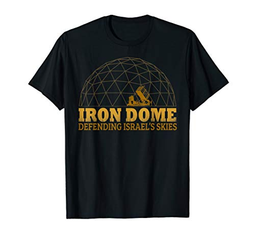 Iron Dome Israel Defense Force IDF Shirt