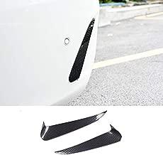 HOTRIMWORLD Carbon Fiber Style Rear Bumper Spoiler Air Vent Outlet Trim Cover for Mercedes-Benz Benz E Class Coupe C238 2016-2019