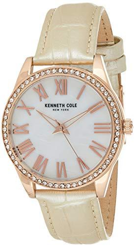 Kenneth Cole Women 's KC50941003 Reloj de cuarzo marrón