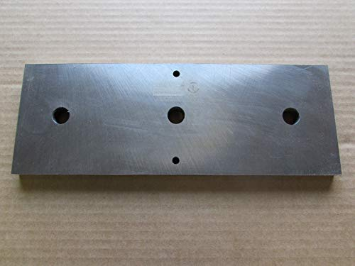 "Brush Bandit Wood Chipper Anvil Model 250 250XP 12-1/2"" X 4-1/2"" X 1/2"""