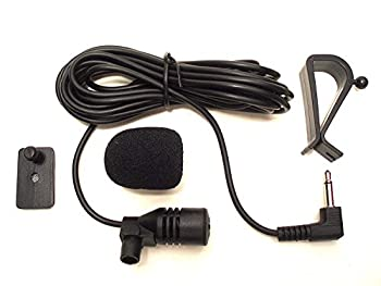 3.5mm Microphone Assembly Mic for Car Vehicle Head Unit Bluetooth Enabled Stereo Radio GPS DVD