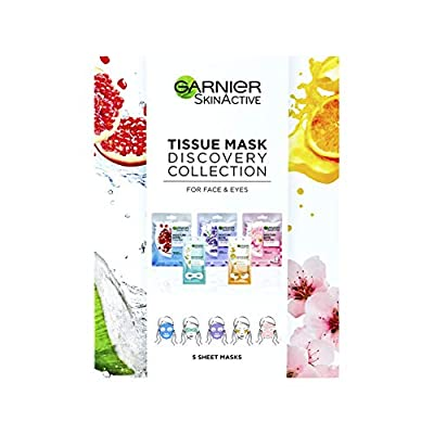 Garnier Tissue Mask Discovery Collection by Loreal