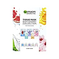 Garnier Discovery Collection Tissue Mask, 21 g