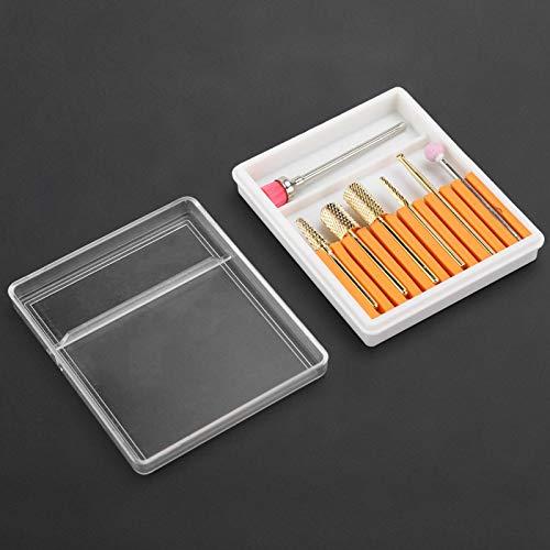 Accesorio para pulidor de uñas, cabezal de pulido duradero Brocas de uñas eficaces para bricolaje para belleza para taladro de uñas para diseño de uñas para uso doméstico (GH-02)