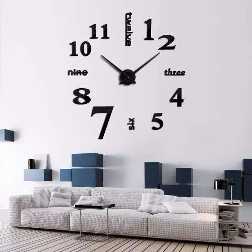 reloj de pared negro fabricante Breezee