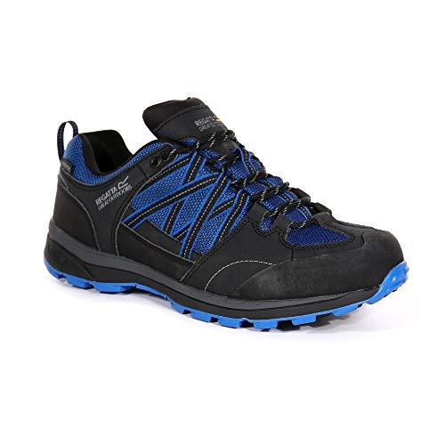 Regatta Chaussures Techniques de Marche Basses Samaris II, Walking Shoe Mens, Oxford Blue/Ash, 46 EU