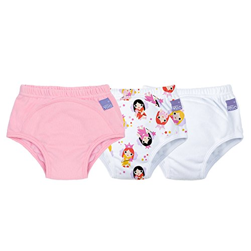 Bambino Mio, Potty Training Pants, Mixed Girl, Fairy, 2-3 Years (3 Pack)