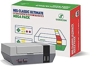 Sonicon Preloaded NES Classic Edition Mini Retro Console Compatible with Nintendo NES, Super Nintendo, Sega Genesis Emulator, Full Collection of NES & SNES Games HDMI 1080P (NES, 8598 Games)