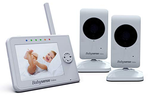 "BABYSENSE V35 Video Babyphone LCD Display 3,5"" mit 2 Kameras"