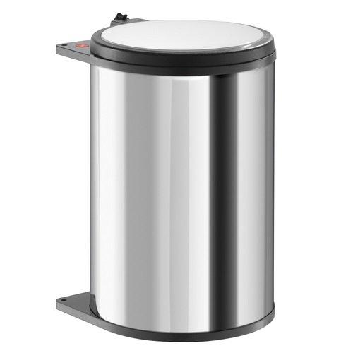 Hailo Big Box Küchen-Abfalleimer, Edelstahl, Braun, One Size