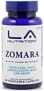 Zomara Anxiety Pills #1 Fast-Acting Anxiety Supplement for Anxiety, Stress Relief and Panic (60 Capsules) 13 Powerful, Professional-Grade Ingredients Helps Boost Mood