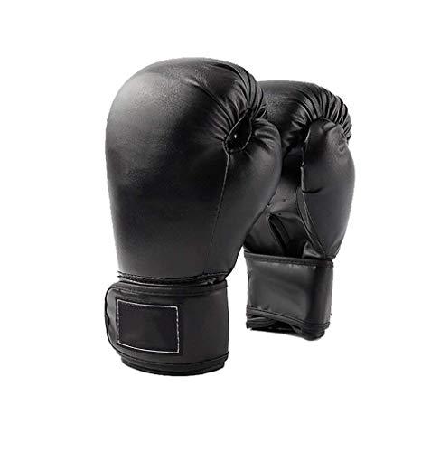 LSHUNYDE Fitness-Trainingsgeräte Boxhandschuhe Geformte Innenhandschuhe Sanda Fighting Boxhandschuhe Boxhandschuhe, dreifarbig Optional, Blau, 8 Unzen,Schwarz,10 UNZEN