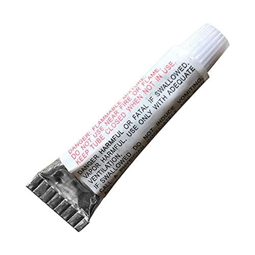 Brawdress Pegamento de PVC impermeable, 1/5/10 unids Pvc Punción reparación parche pegamento adhesivo para piscinas de juguete inflable flotador aire cama piscina Accesorios