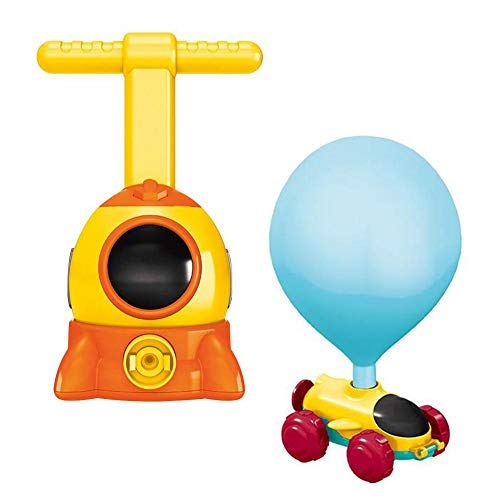 Great Features Of SMASAMDE Kids Balloon Car Toy Educational DIY Inflation Toy Inertial Power Car for...