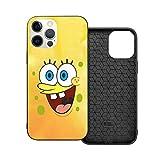N / A Spongebob Squarepants Handyh¨¹lle iPhone 12 PC Materiale Unisex per proteggere la persistenza del telefono cellulare Iphone12 Pro-6.1