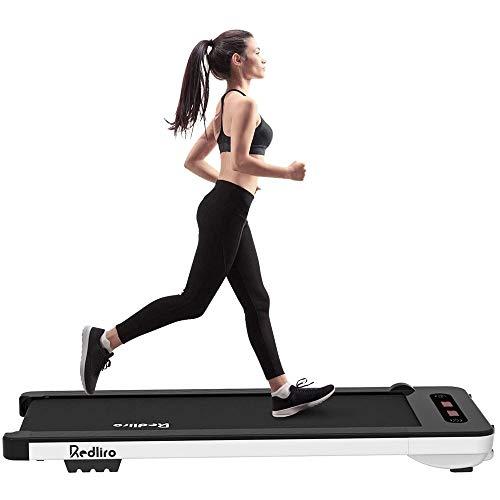 Laufband für Zuhause Elektrisch 10 km/h Treadmill Starker & Leiser Motor Walking Pad Walking Laufband für GEH- und Lauftraining mit Bluetooth, Fernbedienung, LCD Display, Gehband bis 100kg [DE Lager]