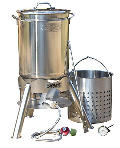 Bayou Classic 800-144 44 quart Boil and Brew, Stainless