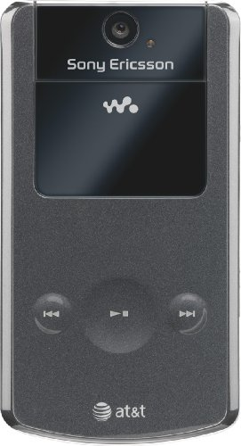 Sony Ericsson Clamshell W518 3G Mobile Flip Phone Black
