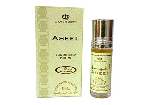 Al-Rehab Crown Roll on Attar Perfume Oil: Aseel 6ml by MSI