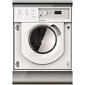 Indesit BIWDIL7125 7kg Wash 5kg Dry 1200rpm Integrated Washer Dryer – White