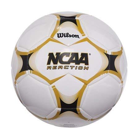 Wilson NCAA Reaction Size 5 Soccer Ball Deluxe Synthetic Cover