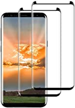 Galaxy S9 Screen Protector [2-Pack], Tempered Glass Screen Protector [Case-Friendly][No Bubbles][Easy to Install][Anti Fingerprint][Full Coverage] Screen Protector Compatible Samsung Galaxy S9