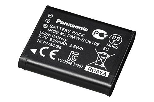 Panasonic LUMIX DMW-BCN10E9 Li-Ion Akku (3,7 Volt, 950 mAh, 3,5 Wh) schwarz