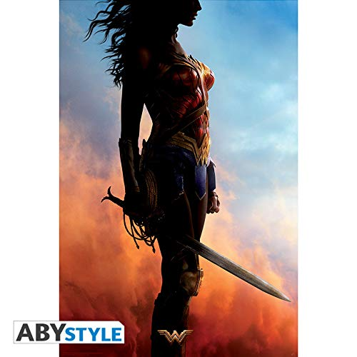 ABYstyle – DC Comics – Poster Movie Wonder Woman (91,5 x 61 cm)