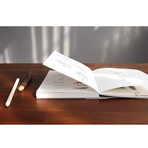 『【ICONIC DESIGN】アイコニック ドローイングブック v.2 (C) 無地ノート おしゃれ かわいい 裏抜けしない【Amazon.co.jp限定】』の4枚目の画像