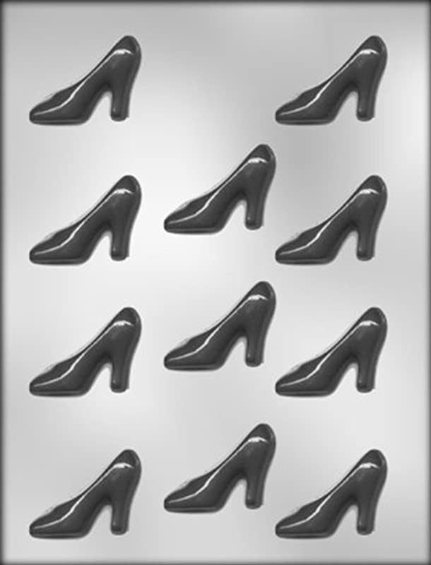 CK Products 2 1 4 Inch High Heel Shoe Chocolate Mold