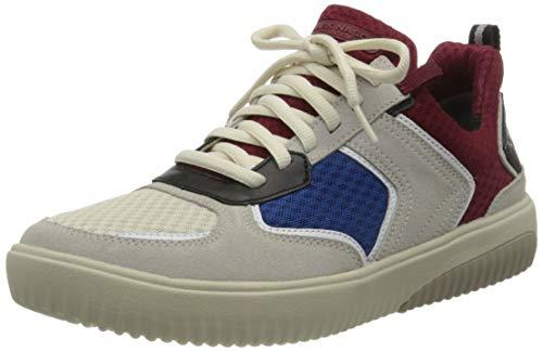 Skechers Herren Ridge Rollie Sneaker, White, 42 EU