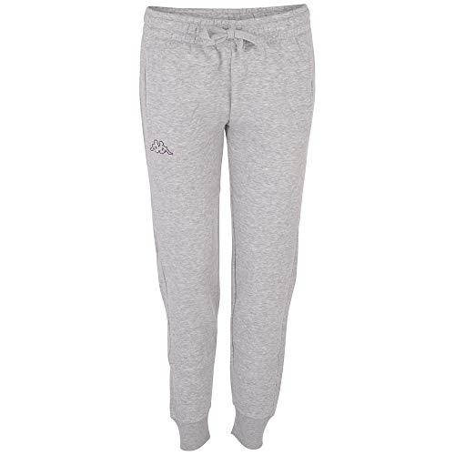 Kappa Pantaloni da Donna Taima, Donna, Mutande, 705202, 18M Grigio Melange, S
