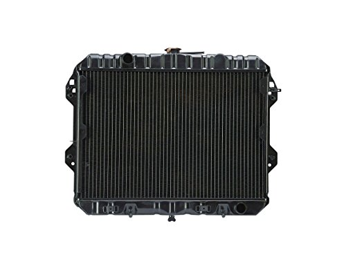 Radiator - Cooling Direct For/Fit 800 79-83 Nissan 280ZX S130 Datsun Rad 2800cc Brass Tank 2.8 Liter Engine