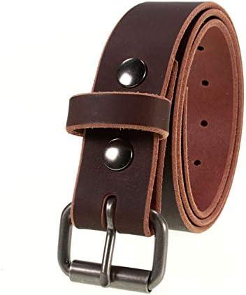 Classic Belt Brass Belt Buckle,Perfect Gift Leather Belt Belt 1 12Belt Buffalo Belt