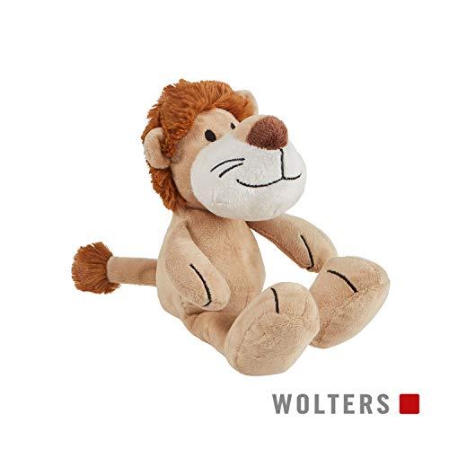 WOLTERS Plüschspielzeug Afrika ohne Quietsche versch. Motive, Motiv:Löwe 26 cm