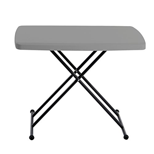 Iceberg IndestrucTable Too 1200 Series Resin Personal Folding Table  $25 at Amazon