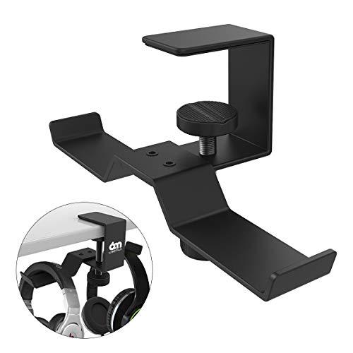 Kopfhörer Ständer, 6amLifestyle Universal Kopfhörerhalter aus Aluminium Earphone Holder Headset Ständer mit Verstellbarer Klammer für Kopfhörer, Overhead Kopfhörer, Gaming-Kopfhörer
