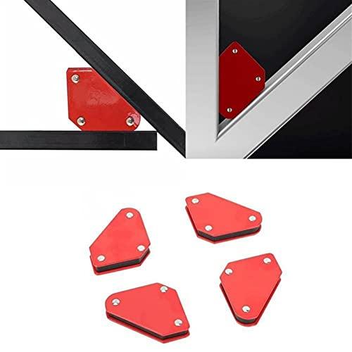 LJZX Posizionatore di Saldatura Localizzatore di Saldatura a Triangolo 1 PZ Senza Interruttore Agnetico Accessori per Saldatura Utensili ad Angolo Fisso Forte Superficie di Assorbimento Magnetico