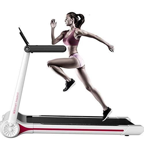 AZZ - Cinta de correr eléctrica plegable, plegable, silenciosa, profesional, mini multifunción, pérdida de peso, aeróbica, caminar, correr, fitness, etc.